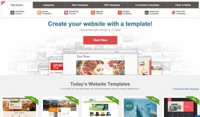طراحی سایت با قالب های آماده وب سایت